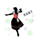 美しのバレエ シルエット*ballet*3幕(個別スタンプ:29)