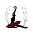 美しのバレエ シルエット*ballet*3幕(個別スタンプ:39)