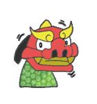 お祭り!獅子舞スタンプ(個別スタンプ:01)