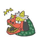 お祭り!獅子舞スタンプ(個別スタンプ:02)