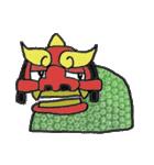 お祭り!獅子舞スタンプ(個別スタンプ:17)