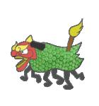 お祭り!獅子舞スタンプ(個別スタンプ:18)