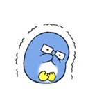ラブラブ・ペンギンカップル(個別スタンプ:6)