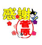「菅原」専用スタンプ(個別スタンプ:16)