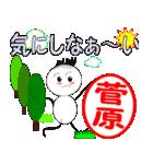 「菅原」専用スタンプ(個別スタンプ:29)