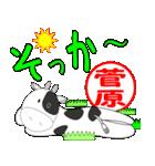「菅原」専用スタンプ(個別スタンプ:36)