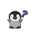 ペンギンのアップリケ02(個別スタンプ:22)
