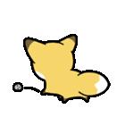 タヌキとキツネ3(個別スタンプ:12)