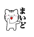 主婦が作ったデカ文字 関西弁ネコ2(個別スタンプ:03)