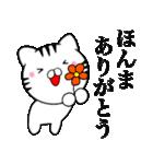 主婦が作ったデカ文字 関西弁ネコ2(個別スタンプ:11)