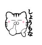 主婦が作ったデカ文字 関西弁ネコ2(個別スタンプ:27)
