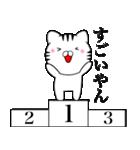 主婦が作ったデカ文字 関西弁ネコ2(個別スタンプ:30)