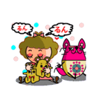 DOLLY AND CAT(個別スタンプ:13)