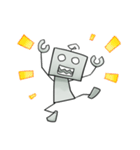 ぽんこつロボット(個別スタンプ:07)
