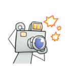 ぽんこつロボット(個別スタンプ:21)