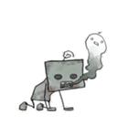 ぽんこつロボット(個別スタンプ:31)