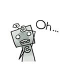 ぽんこつロボット(個別スタンプ:33)