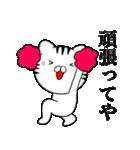 主婦が作ったデカ文字 関西弁ネコ4(個別スタンプ:13)