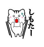 主婦が作ったデカ文字 関西弁ネコ4(個別スタンプ:20)