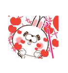 LOVE100%(中毒うさぎのバレンタイン)(個別スタンプ:01)