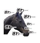 大阪弁をしゃべる馬のスタンプ 第二弾(個別スタンプ:09)