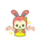 昭和レトロ風なクマとウサギ(個別スタンプ:02)