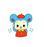 昭和レトロ風なクマとウサギ(個別スタンプ:03)