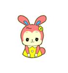 昭和レトロ風なクマとウサギ(個別スタンプ:07)