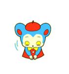 昭和レトロ風なクマとウサギ(個別スタンプ:09)