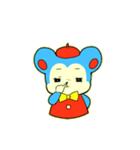 昭和レトロ風なクマとウサギ(個別スタンプ:17)