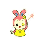 昭和レトロ風なクマとウサギ(個別スタンプ:21)
