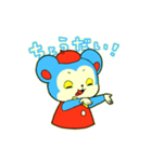 昭和レトロ風なクマとウサギ(個別スタンプ:24)