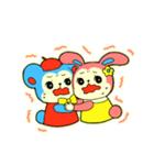 昭和レトロ風なクマとウサギ(個別スタンプ:38)
