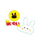 好きウサギ(オス)(個別スタンプ:03)
