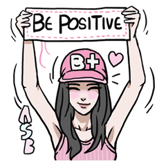 AsB - 128 B+G / Be Positive Girls!