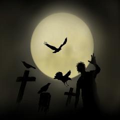 暗闇のモンスター(ハロウィン)