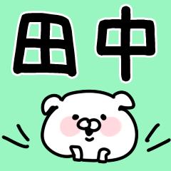 【田中/たなか】専用/名字/名前スタンプ