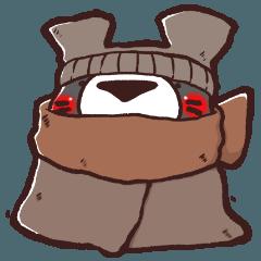 ハイぐま4~寒い日~