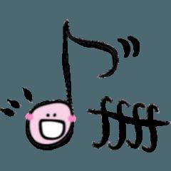 音大ピアノ科8分音符くん