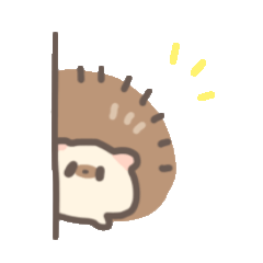 おはぎハリネズミ