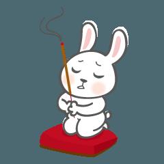 ウサギちゃんと台湾の迷信の事