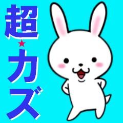 超★カズ(かず)なウサギ