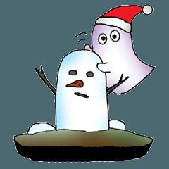 お化けの森2(クリスマス)