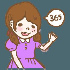 365日使える!癒し系ふわふわ女子の日常