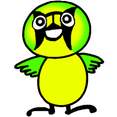 [LINEスタンプ] ハハジマメグロのチッチちゃん (1)