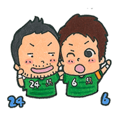 FC岐阜公式スタンプ2016