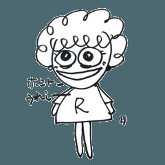 れみちゃんスタンプ