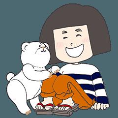おかっぱさんとしろくまちゃん (renewal)