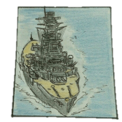 ミリタリー劇画スタンプ 艦隊編2