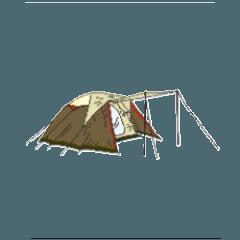 [LINEスタンプ] キャンプ デザイン (1)